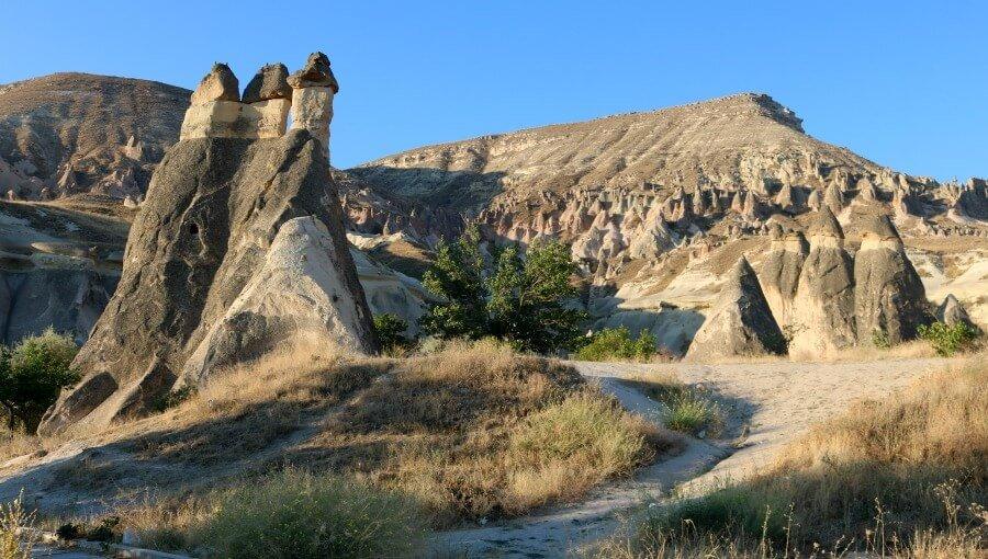 El Valle de los Monjes en Pasabag Kapadokya