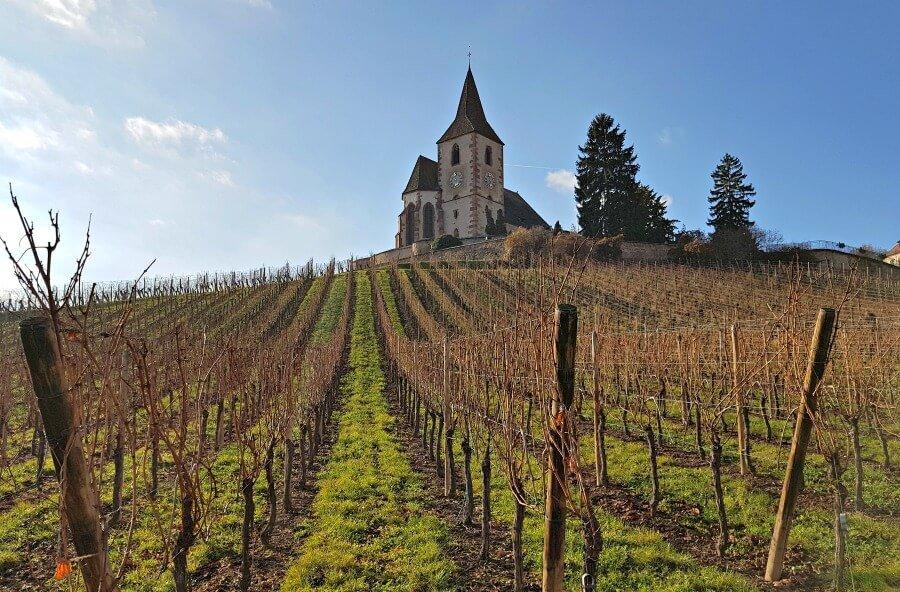 Hunawihr, el pueblo de los viñedos en Alsacia