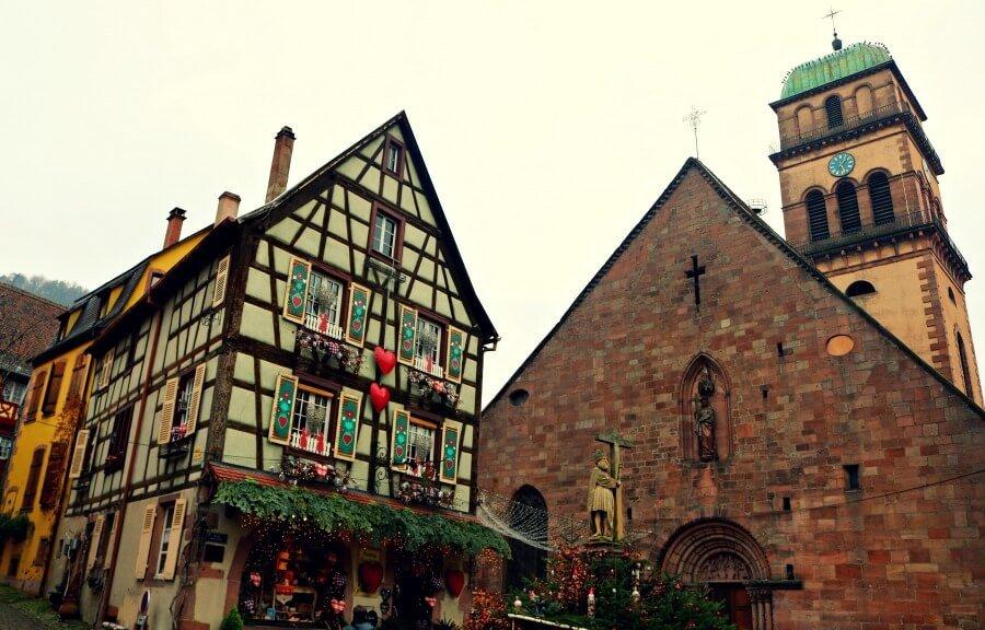 Kayseberg, uno de los pueblos más bonitos de la Alsacia en navidad