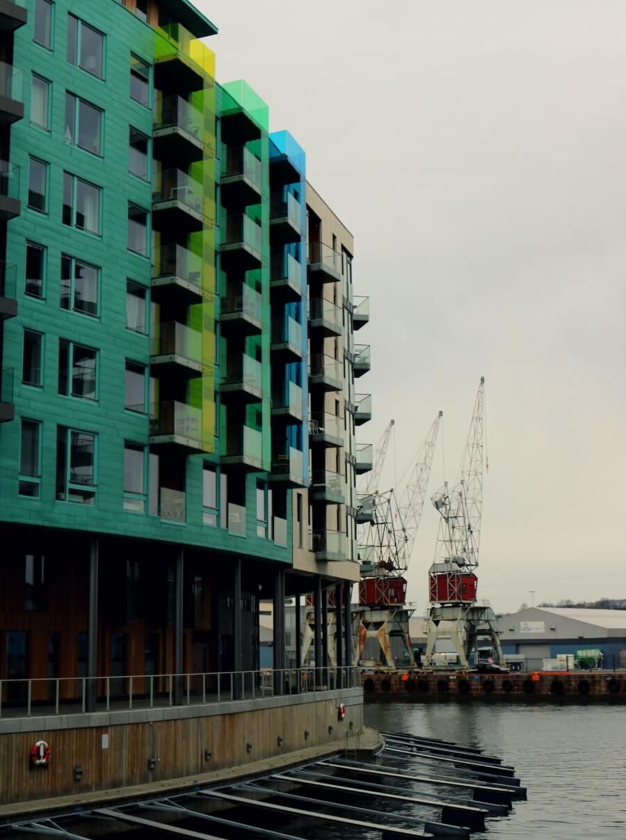 La arquitectura de la zona portuaria - Qué ver en Oslo en un día
