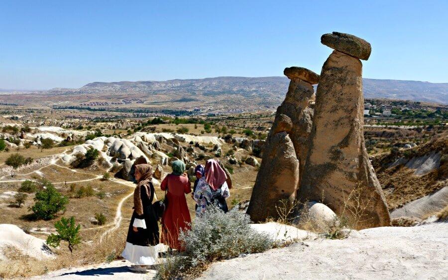 Las Twin Fairy Chimneys, las Chimeneas Gemelas de Capadocia