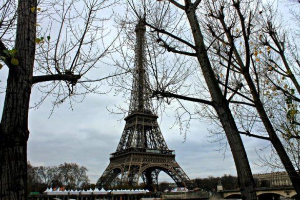 Mercado de navidad de la Torre Eiffel