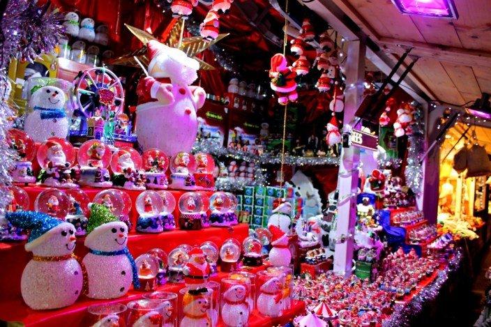 Mercados navideños de París
