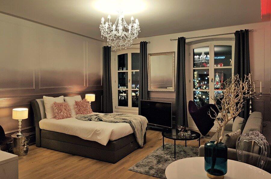 Nuestro apartamento en Estrasburgo con vistas a la Place Kléber