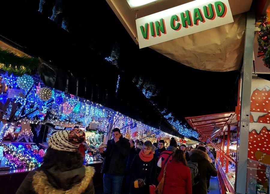 Puestos del Mercado de Navidad de Estrasburgo