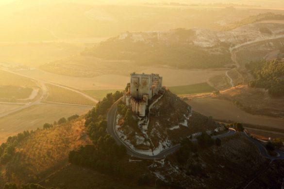 Castillo de Peñafiel, el mejor de los castillos de Valladolid