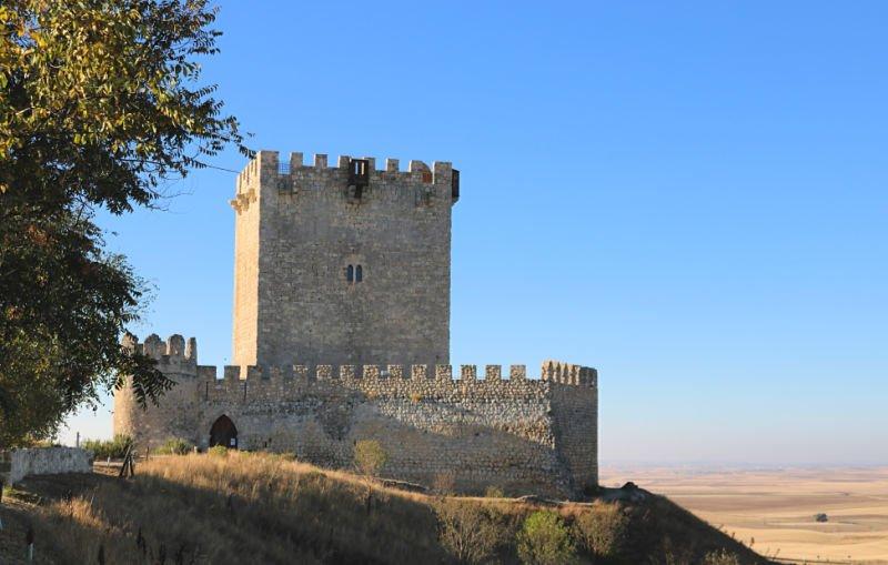Castillos de Valladolid - El castillo de Tiedra