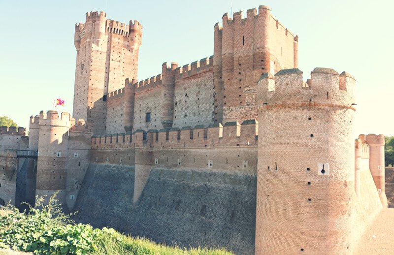 Castillo de la Mota en Valladolid