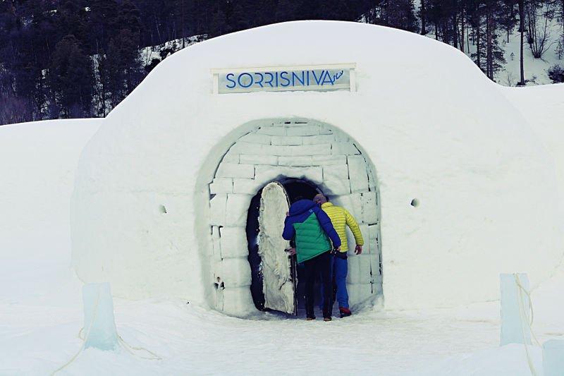 Hotel de hielo en Noruega en un iglú
