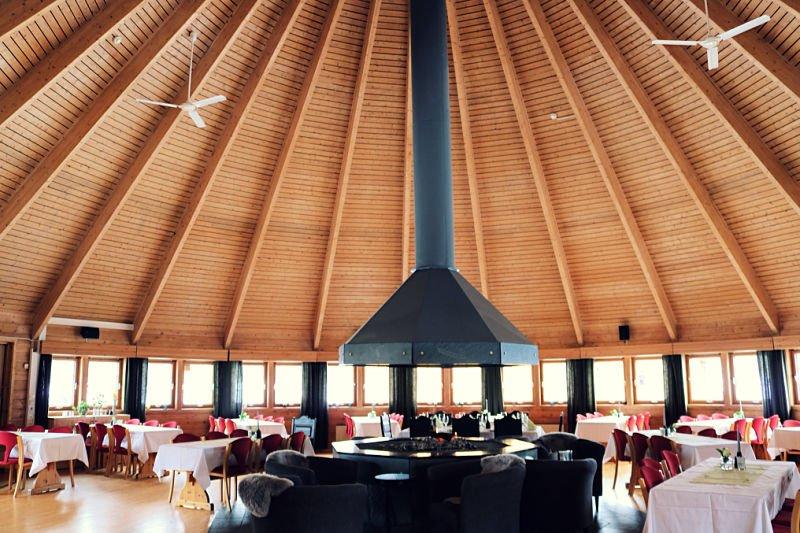 Restaurante del Sorrinisva Hotel de Noruega