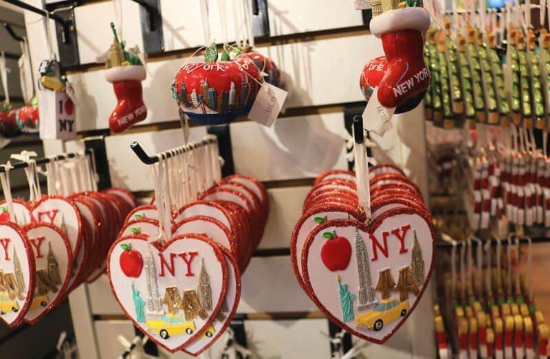 Adornos de Navidad de Nueva York