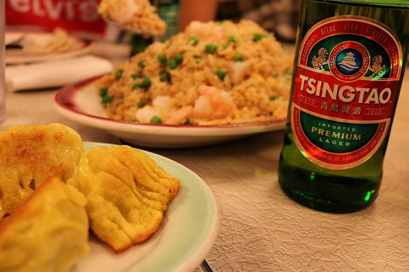 Comer en Chinatown en Nueva York