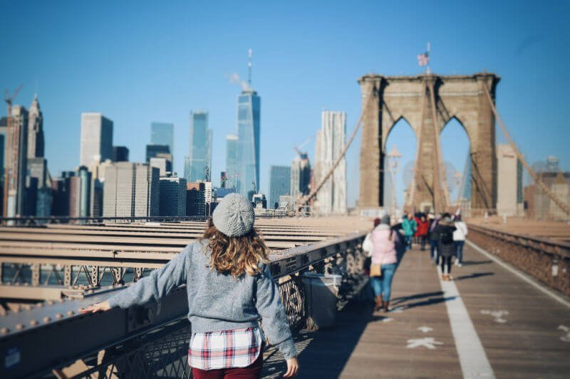 El Puente de Brooklyn en New York