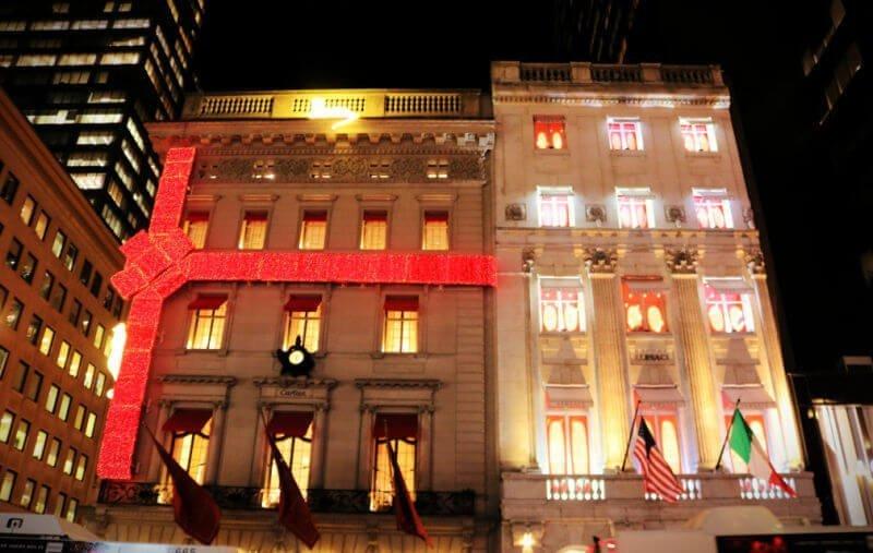 Escaparate de Cartier - Nueva York en Navidad