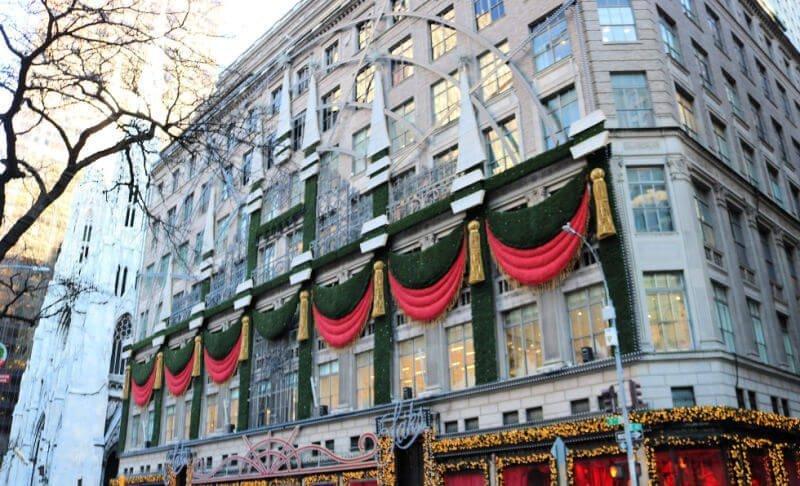 Escaparates de Nueva York en Navidad - Sack's