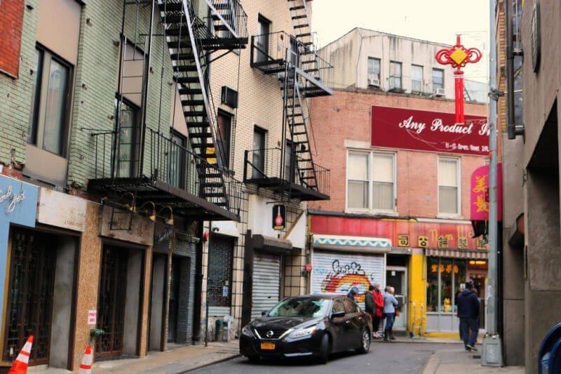 Esquina Sangrienta de Chinatown en New York