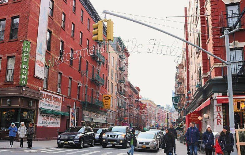 Little Italy, el barrio italiano de Nueva York