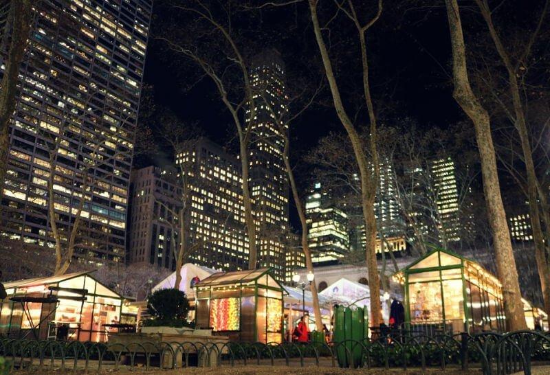 Mercado de Navidad de Bryant Park