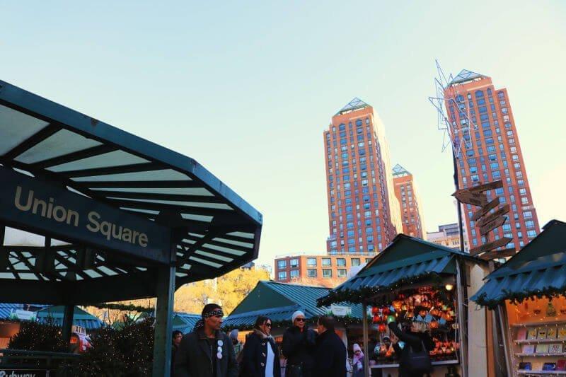 Mercado de Navidad de Union Square