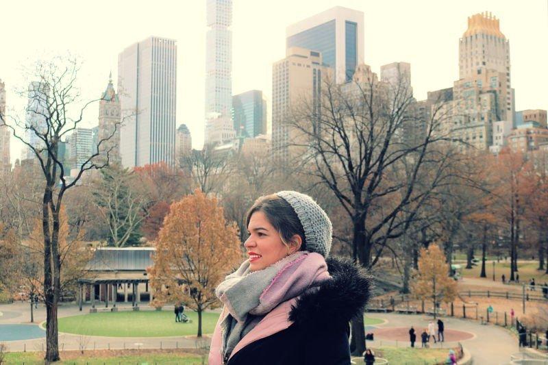 Pasear por Central Park