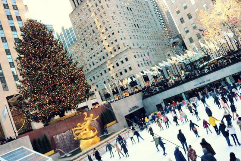 Pista de hielo de Rockefeller Center