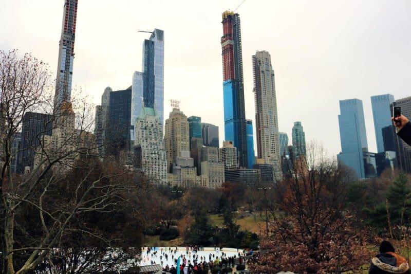 Pista de patinaje de Central Park