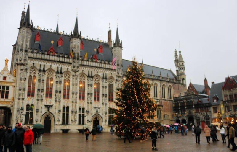 Ayuntamiento de Brujas y su Sala Gótica