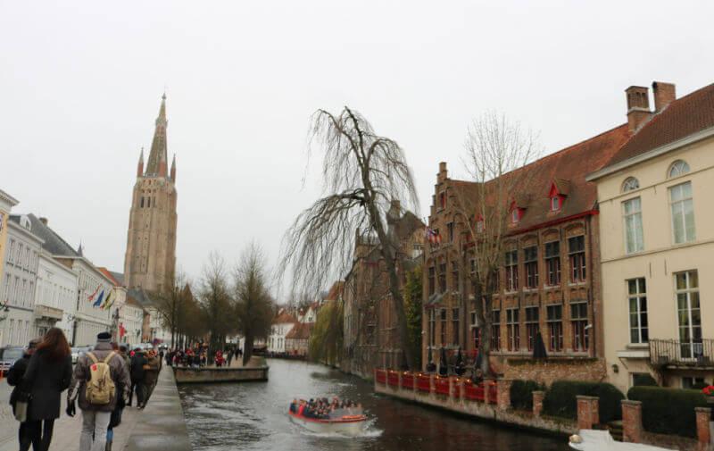 Canal del Dijver de Brujas