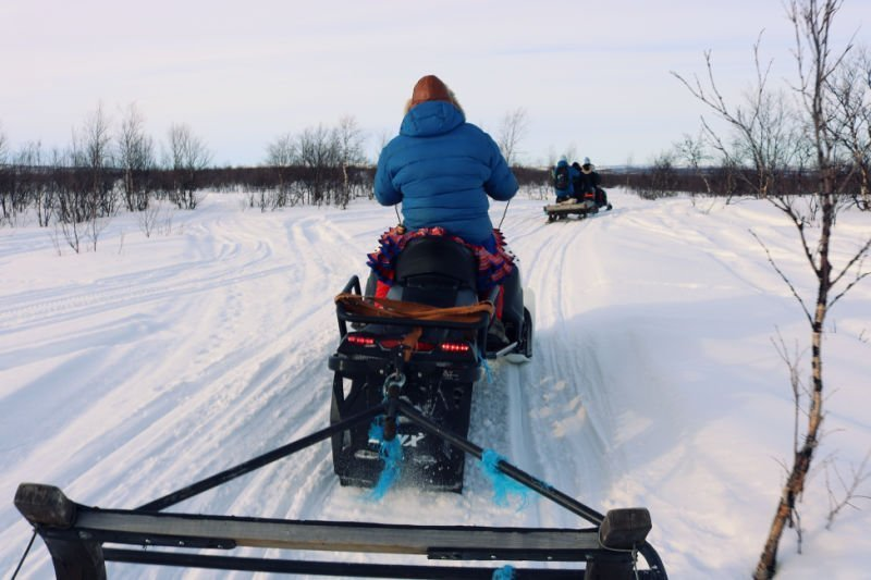 Montar en trineo en Noruega - Laponia