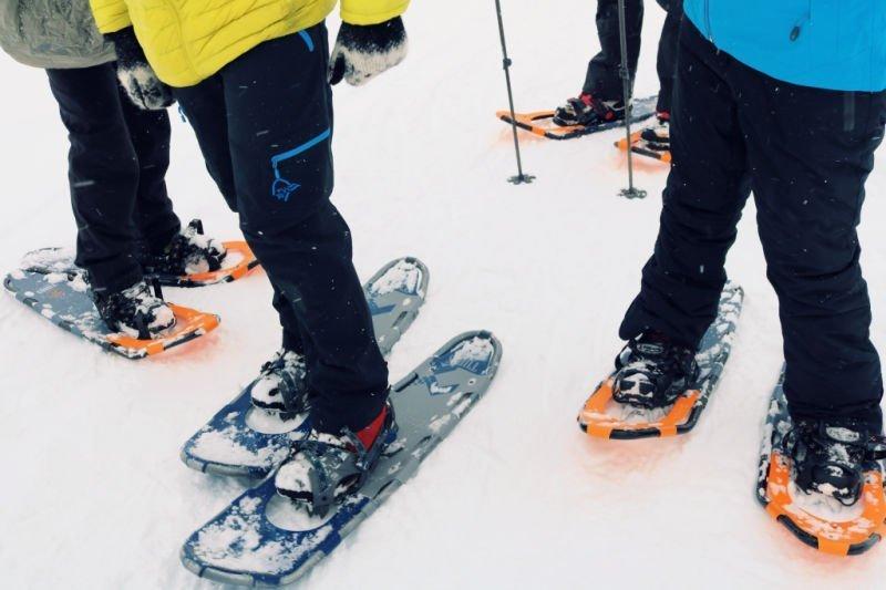 Raquetas de nieve - Qué hacer en Noruega