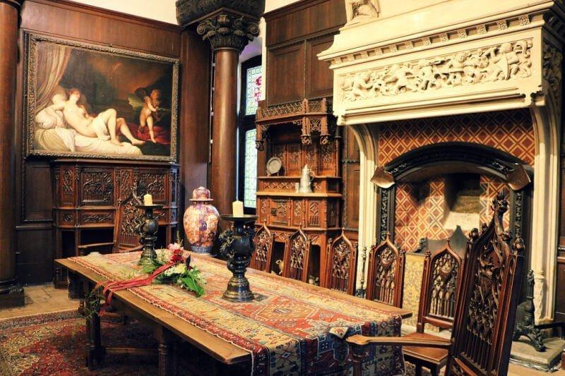 Sala de ceremonias del Reichsburg de Cochem