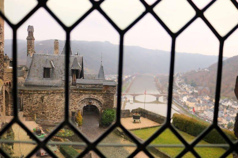 Vistas desde el Castillo de Cochem