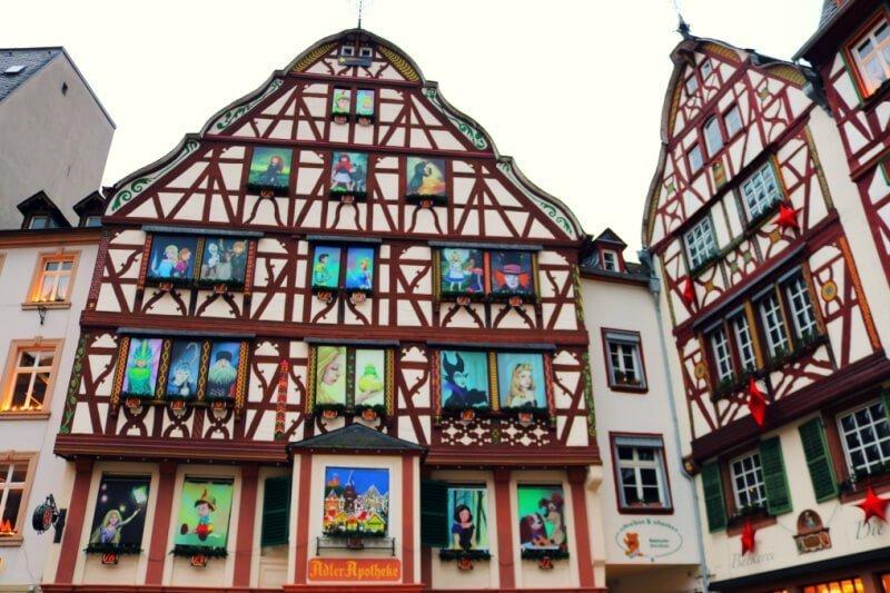 Calendario de Adviento en el Ayuntamiento de Bernkastel-Kues