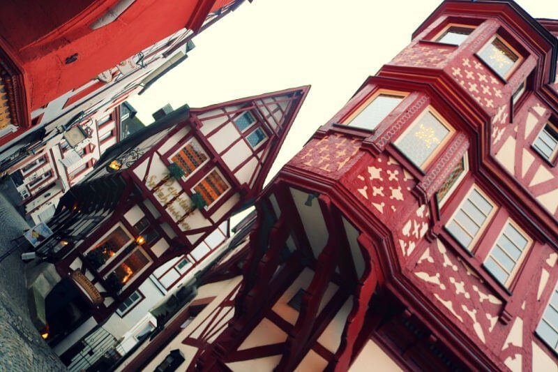 El edificio más antiguo y estrecho de Bernkastel-Kues