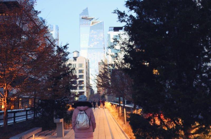 Pasear por el High Line, un impresindible en Nueva York