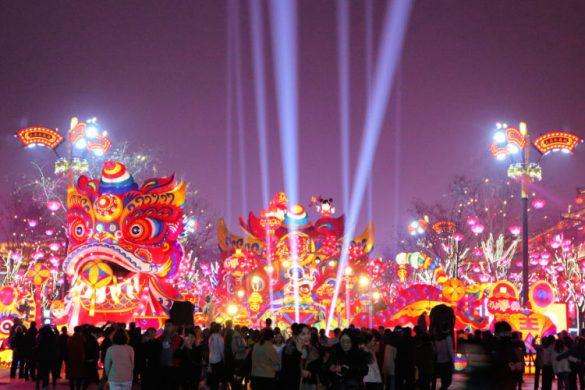 Festival de los Farolillos de Xian