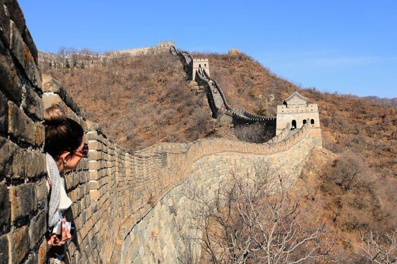 Visitar la Gran Muralla china desde Pekín Mutianyu
