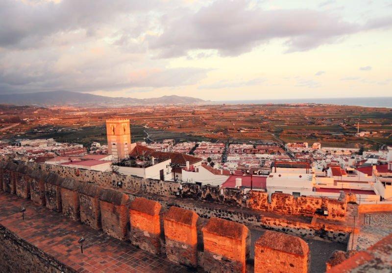 Atardecer desde el Castillo de Salobreña