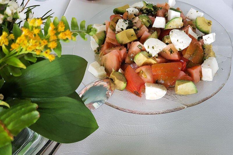 Comer en el restaurante Miba de Salobreña