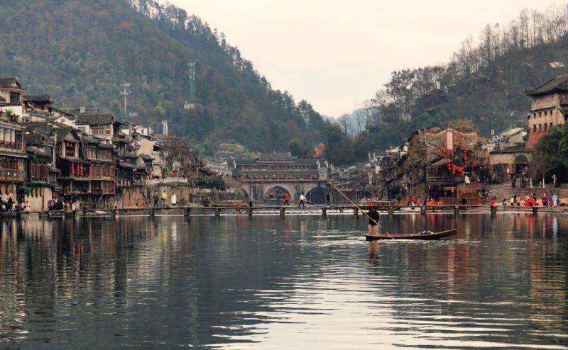 Fenghuang, Ciudad del Fénix, el pueblo más bonito de China