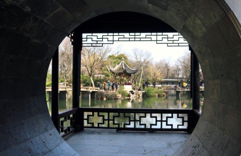 Jardín del Administrador Humilde de Suzhou en China
