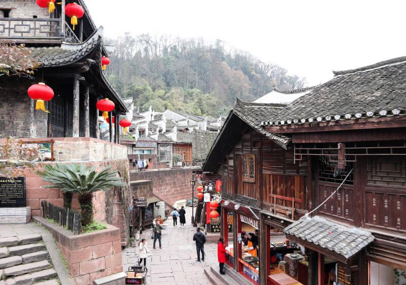 Murallas y calles de Fenghuang