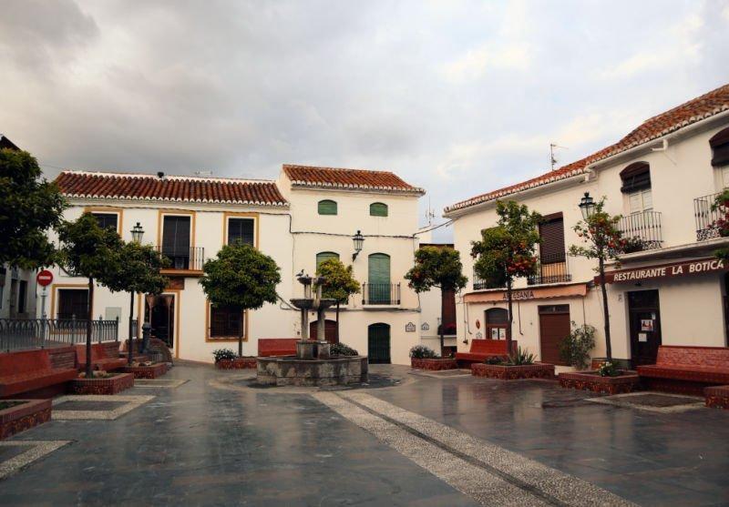 Plaza del Antiguo Ayuntamiento de Salobreña