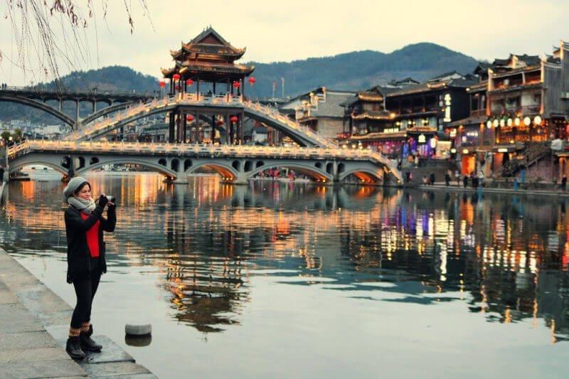 Puente Hong en Fenghuang