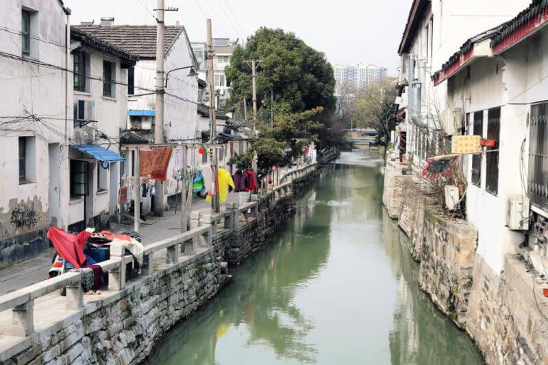 Un barrio muy auténtico en Suzhou