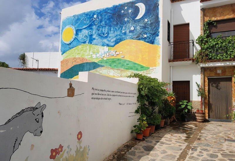 Almócita, el pueblo de los graffitis, uno de los más bonitos de Almería