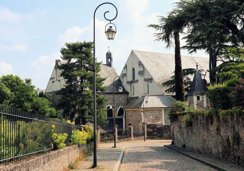 Barrio de La Doutre en Angers