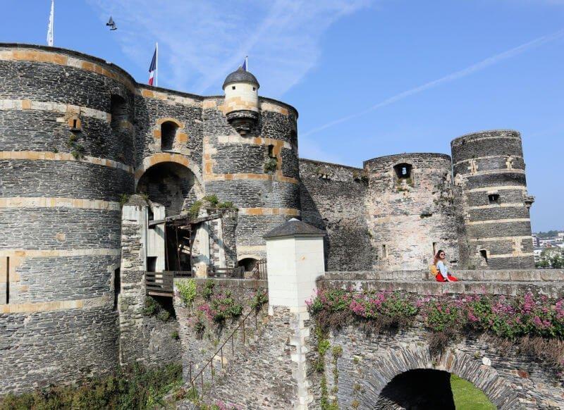 Castillo de Angers, la visita principal en la ciudad