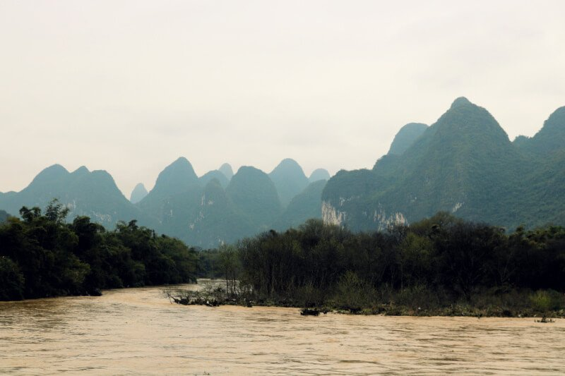 Crucero por el río Li hasta Yangshuo