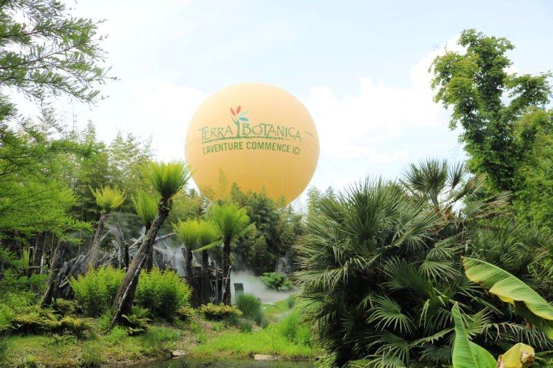 El Parque Terra Botánica en Anjou